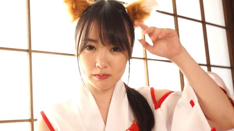 【崎川みずきキャプ画像】狐耳が可愛らしいFカップ巨乳のコスプレイヤーグラドル 04