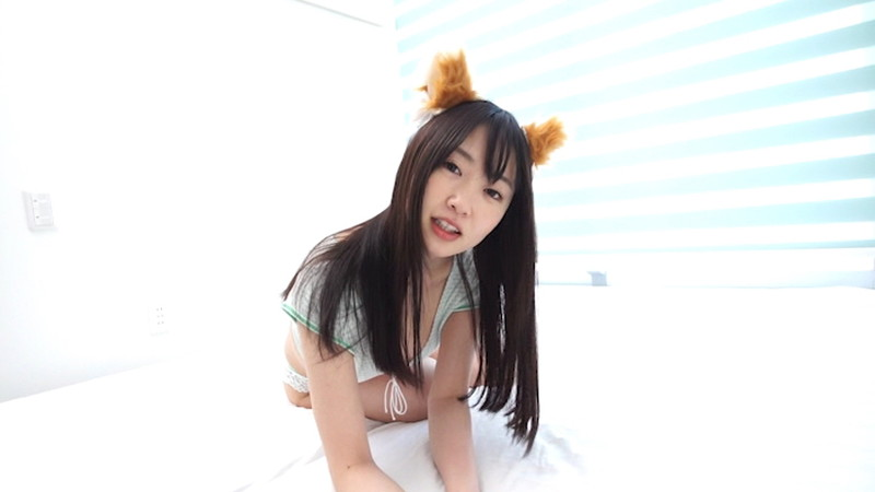【崎川みずきキャプ画像】狐耳が可愛らしいFカップ巨乳のコスプレイヤーグラドル 11
