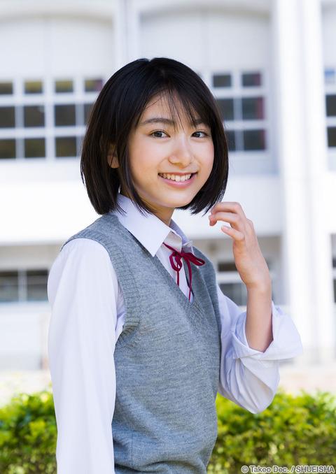 【池間夏海エロ画像】ショートカットが似合って可愛い美少女の水着姿 21