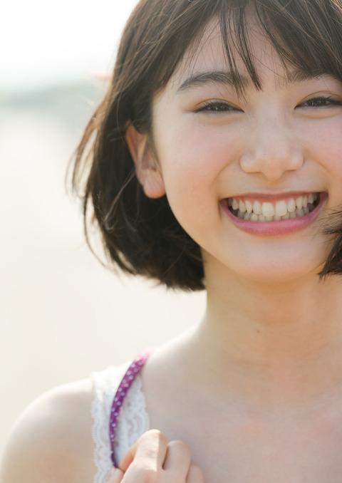 【池間夏海エロ画像】ショートカットが似合って可愛い美少女の水着姿 54