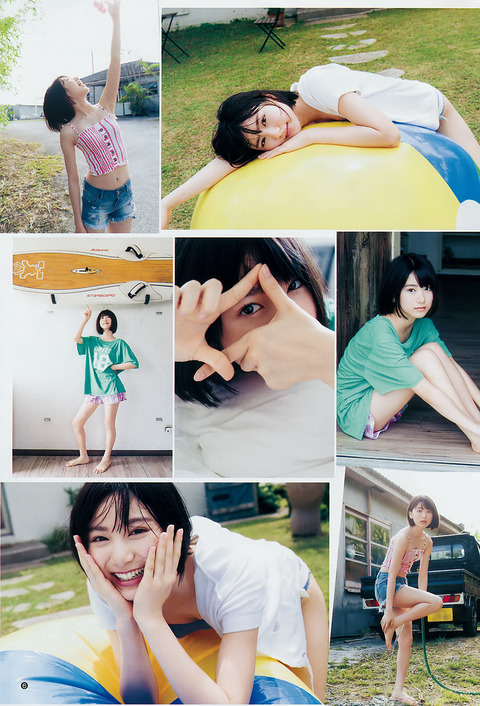 【池間夏海エロ画像】ショートカットが似合って可愛い美少女の水着姿 64