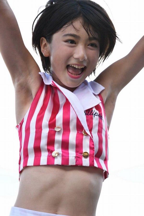 【池間夏海エロ画像】ショートカットが似合って可愛い美少女の水着姿 84