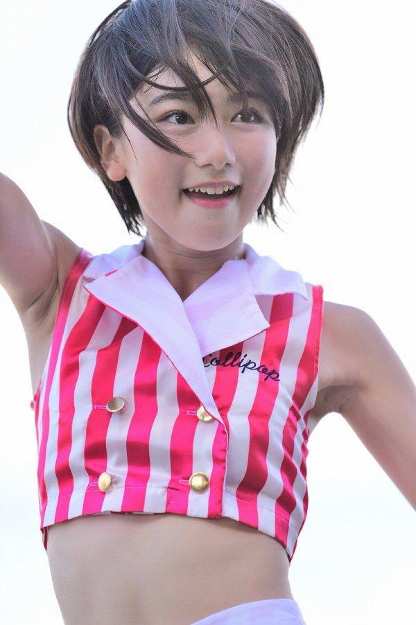 【池間夏海エロ画像】ショートカットが似合って可愛い美少女の水着姿 89