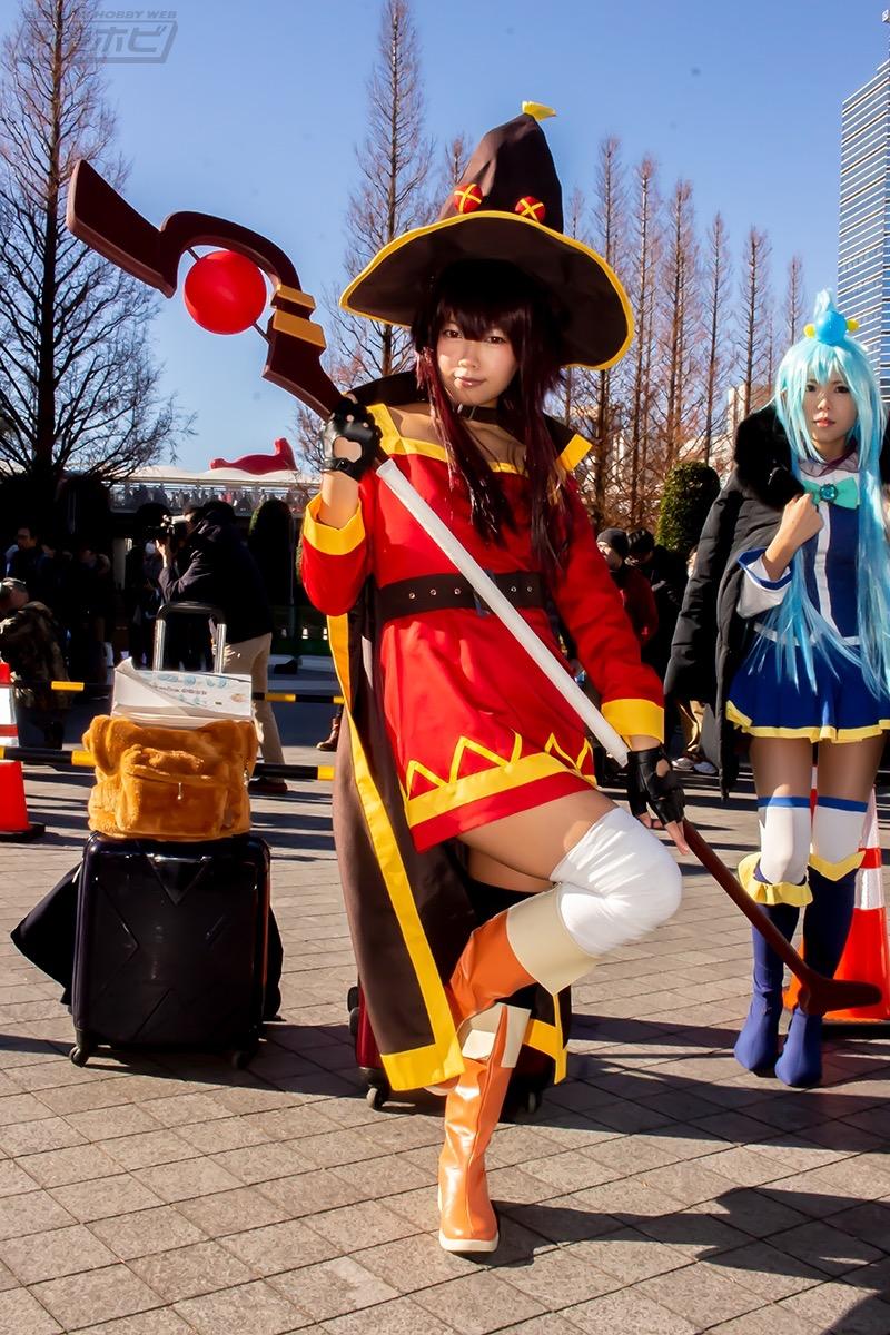 【コスプレエロ画像】平成最後の冬コミックマーケットで可愛くてエロいコスプレ写真! 09