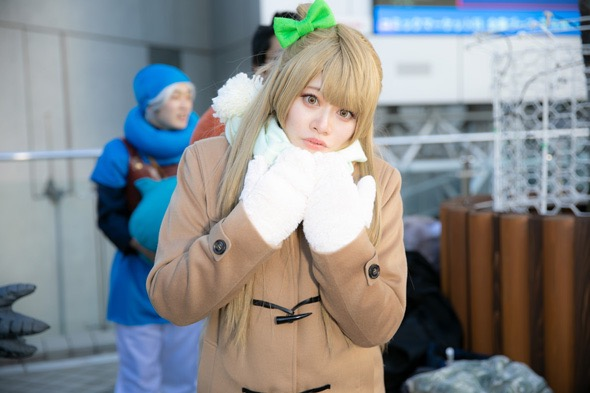【コスプレエロ画像】平成最後の冬コミックマーケットで可愛くてエロいコスプレ写真! 29