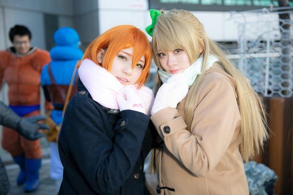 【コスプレエロ画像】平成最後の冬コミックマーケットで可愛くてエロいコスプレ写真! 30