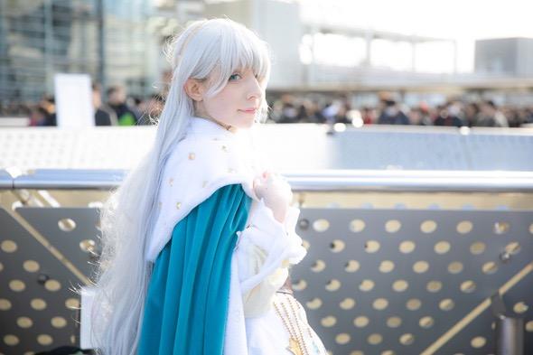 【コスプレエロ画像】平成最後の冬コミックマーケットで可愛くてエロいコスプレ写真! 31