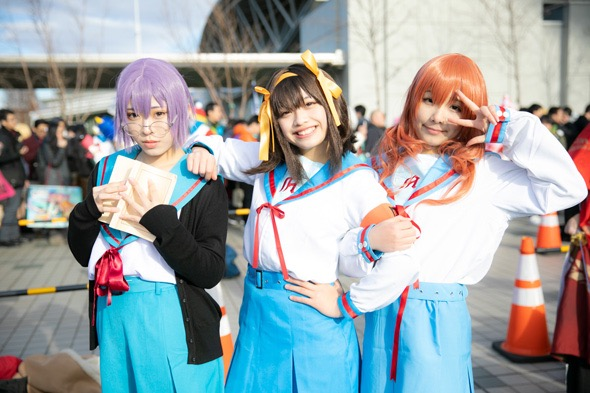 【コスプレエロ画像】平成最後の冬コミックマーケットで可愛くてエロいコスプレ写真! 37