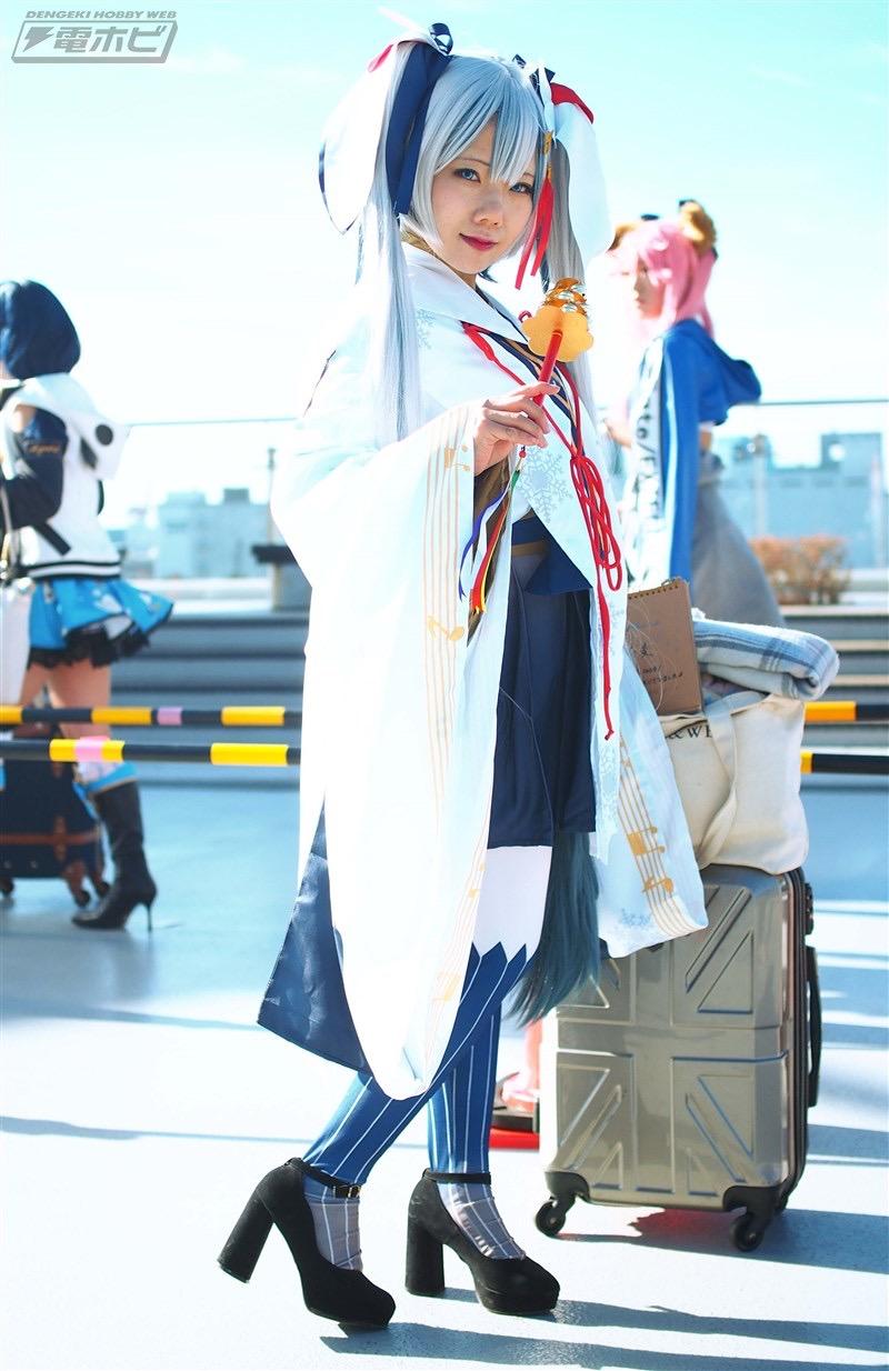 【コスプレエロ画像】平成最後の冬コミックマーケットで可愛くてエロいコスプレ写真! 40