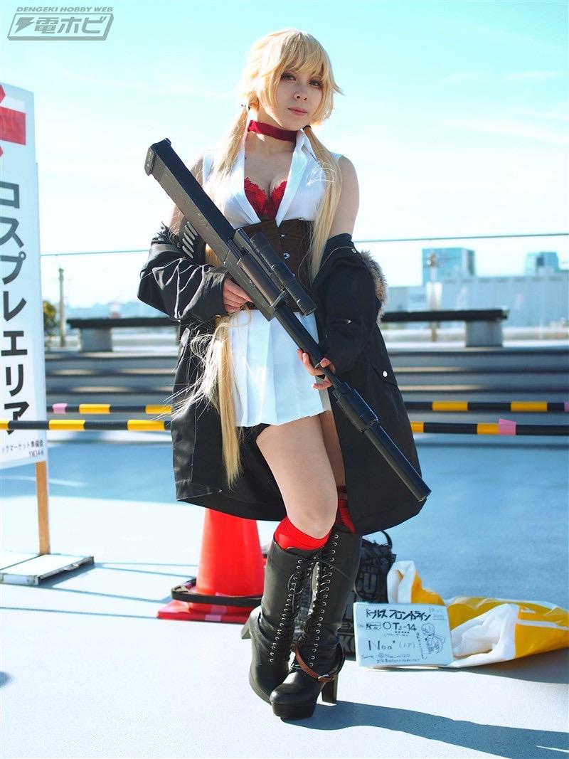 【コスプレエロ画像】平成最後の冬コミックマーケットで可愛くてエロいコスプレ写真! 42
