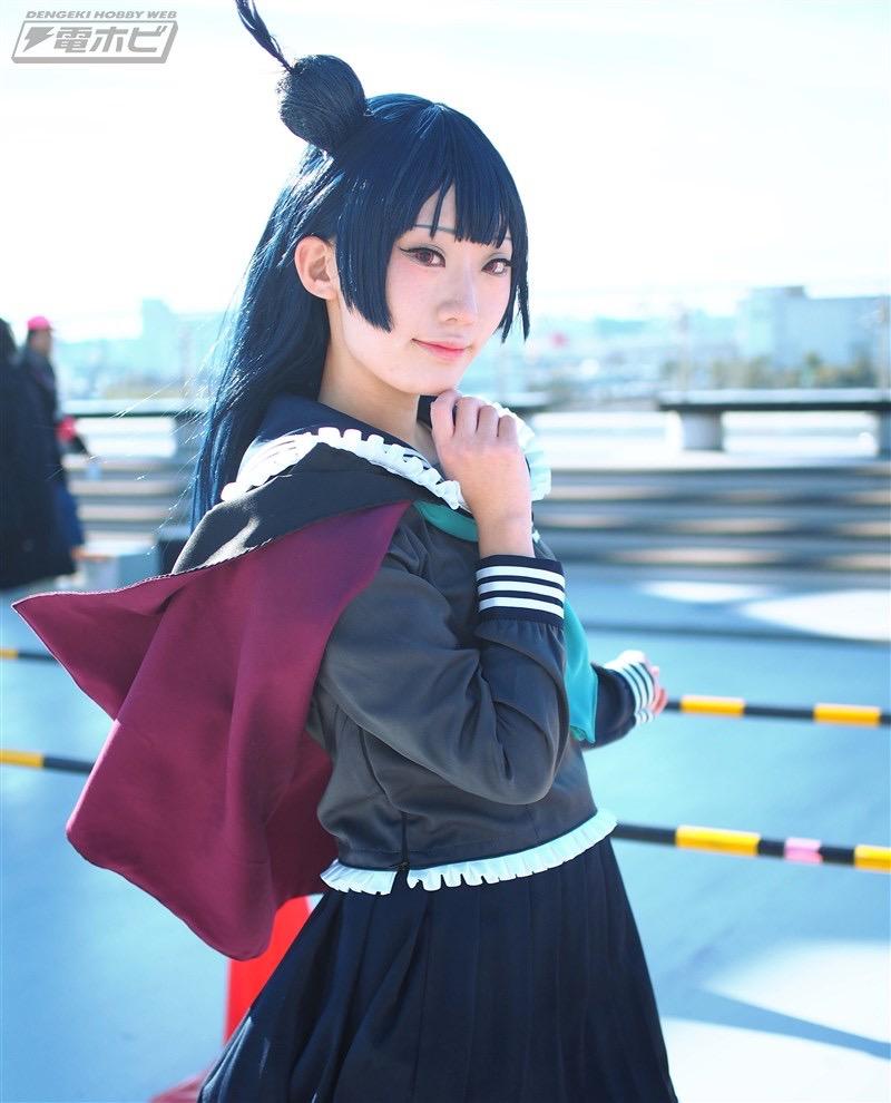 【コスプレエロ画像】平成最後の冬コミックマーケットで可愛くてエロいコスプレ写真! 47