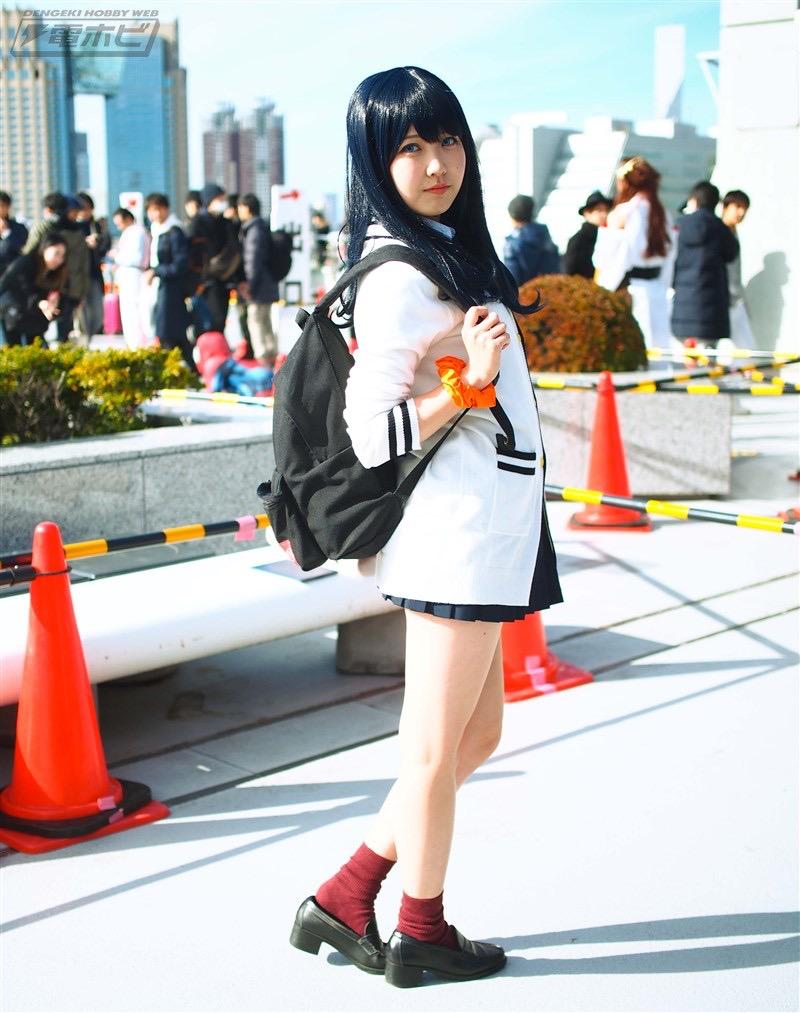 【コスプレエロ画像】平成最後の冬コミックマーケットで可愛くてエロいコスプレ写真! 54