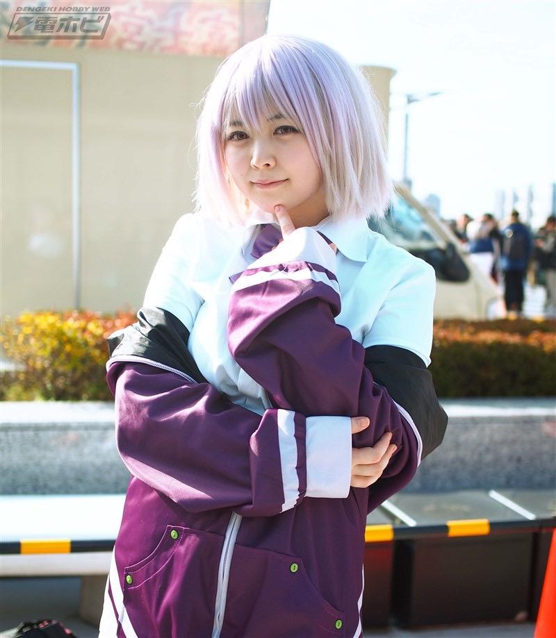 【コスプレエロ画像】平成最後の冬コミックマーケットで可愛くてエロいコスプレ写真! 61