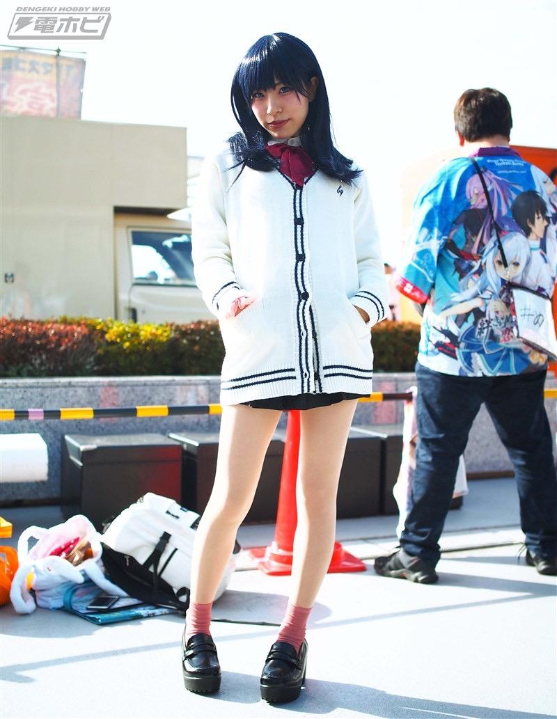 【コスプレエロ画像】平成最後の冬コミックマーケットで可愛くてエロいコスプレ写真! 62