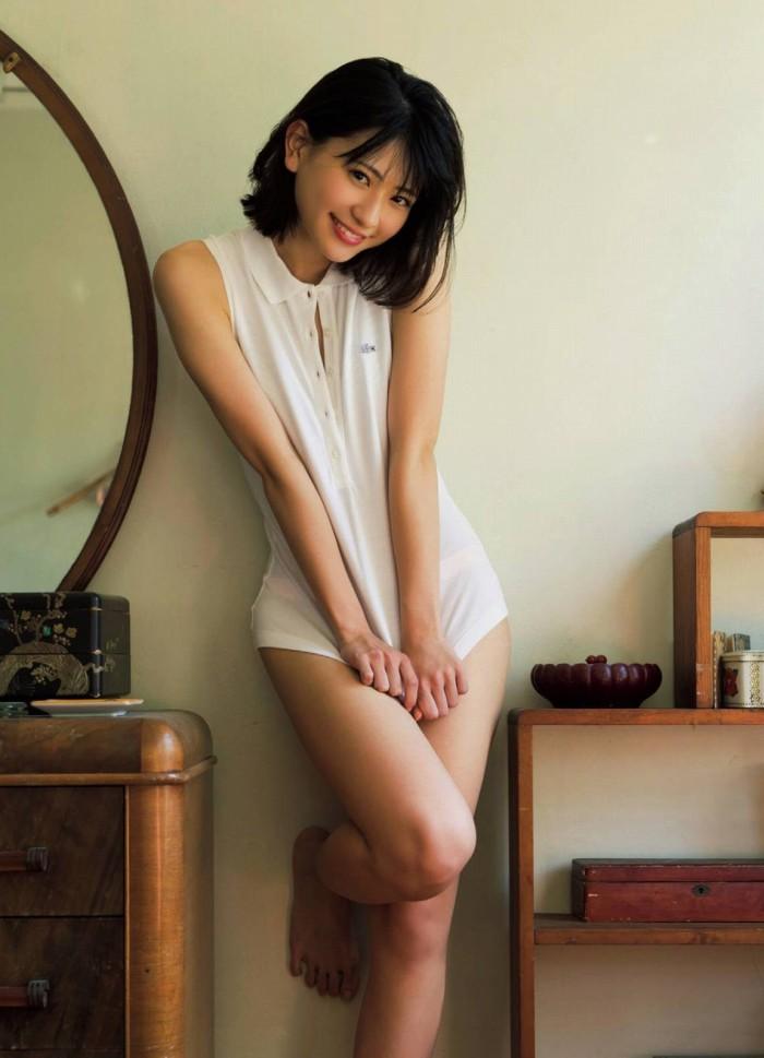 【やまだみなみエロ画像】笑顔が可愛い美少女アイドルのエッチな写真 43