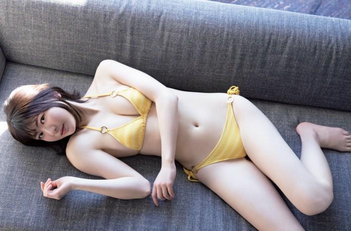 【やまだみなみエロ画像】笑顔が可愛い美少女アイドルのエッチな写真 53