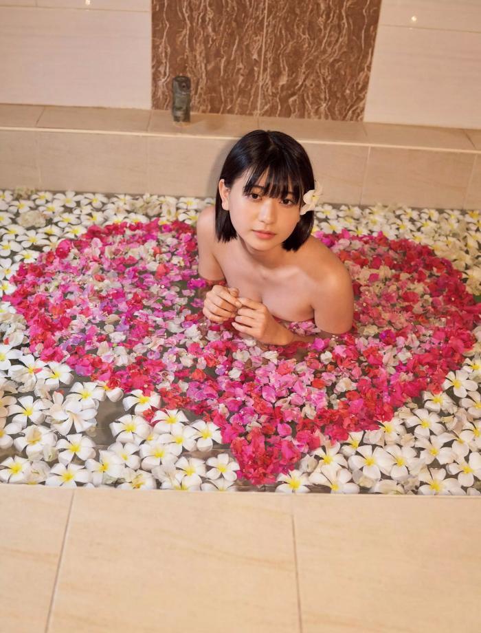 【やまだみなみエロ画像】笑顔が可愛い美少女アイドルのエッチな写真 56