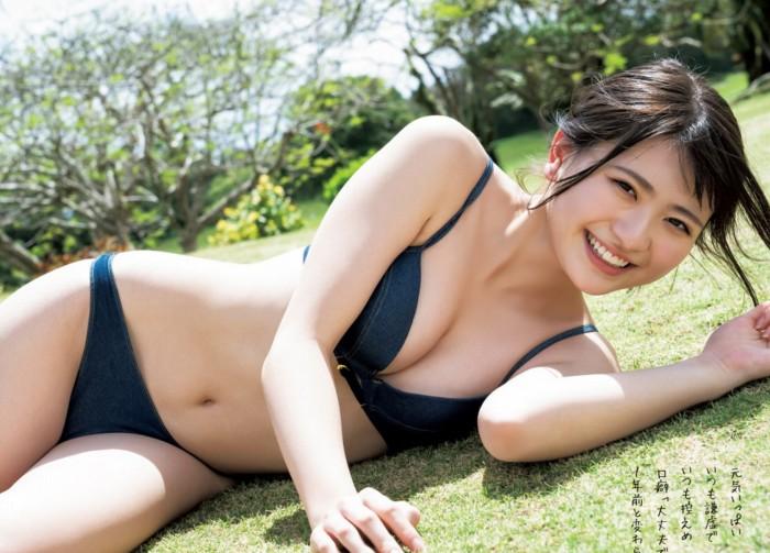【やまだみなみエロ画像】笑顔が可愛い美少女アイドルのエッチな写真 59