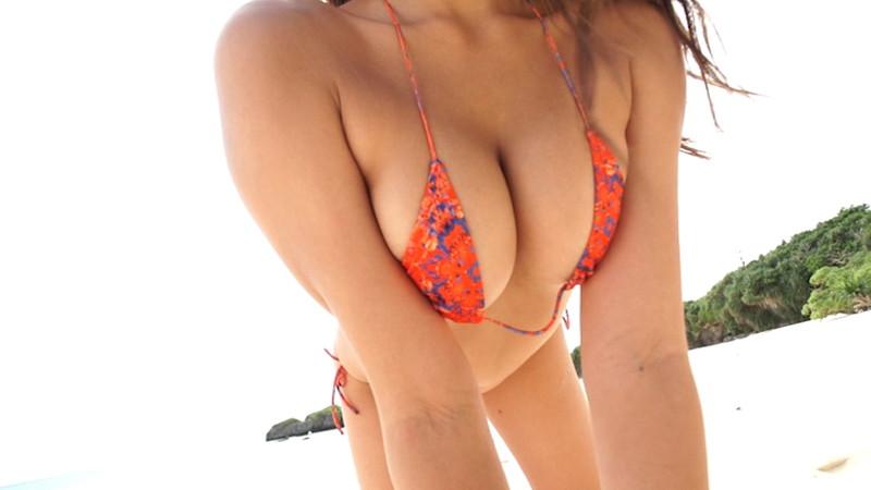 【徳江かなキャプ画像】Eカップ巨乳も良いけどお尻も案外エロいんです 11