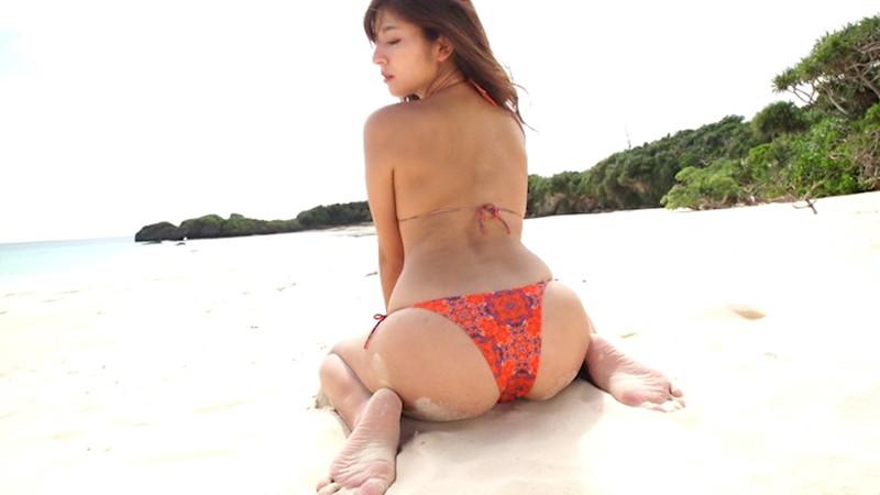 【徳江かなキャプ画像】Eカップ巨乳も良いけどお尻も案外エロいんです 13
