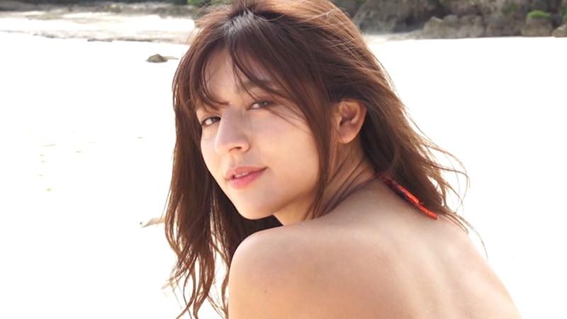 【徳江かなキャプ画像】Eカップ巨乳も良いけどお尻も案外エロいんです 14