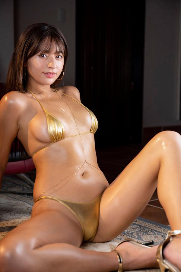 【徳江かなキャプ画像】Eカップ巨乳も良いけどお尻も案外エロいんです 73