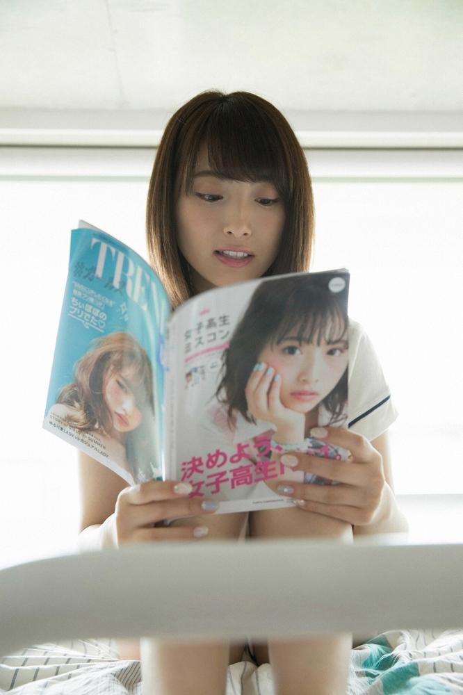 【永井理子グラビア画像】女子高生ミスコン初代グランプリの美少女 56