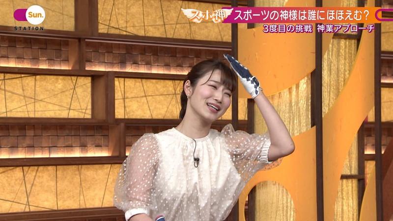 【女子アナキャプ画像】テレ朝入社2年目の笑顔が可愛い安藤萌々さん 06