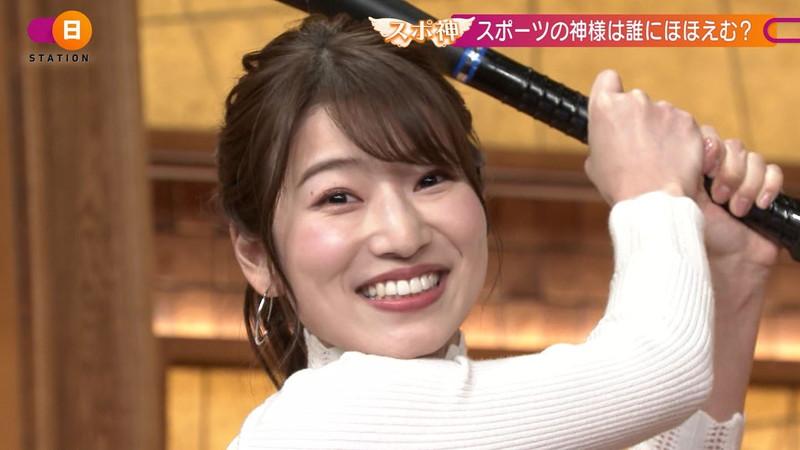 【女子アナキャプ画像】テレ朝入社2年目の笑顔が可愛い安藤萌々さん 23