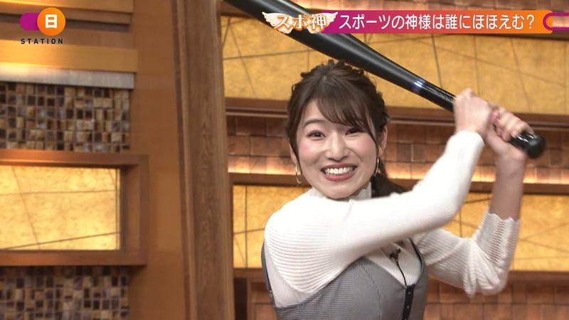 【女子アナキャプ画像】テレ朝入社2年目の笑顔が可愛い安藤萌々さん 24