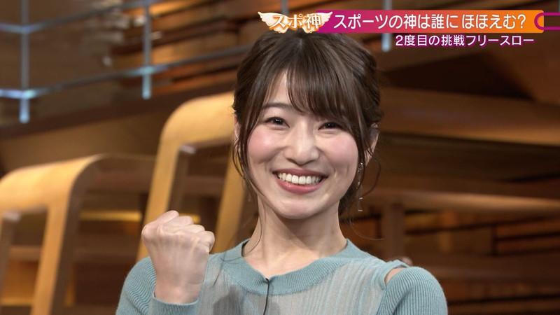 【女子アナキャプ画像】テレ朝入社2年目の笑顔が可愛い安藤萌々さん 34