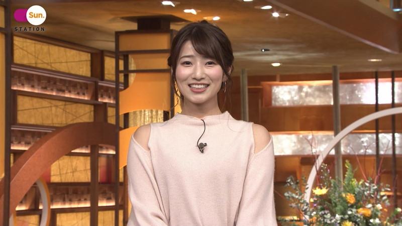 【女子アナキャプ画像】テレ朝入社2年目の笑顔が可愛い安藤萌々さん 36