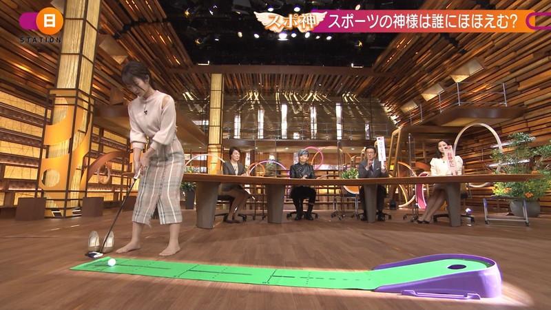 【女子アナキャプ画像】テレ朝入社2年目の笑顔が可愛い安藤萌々さん 43