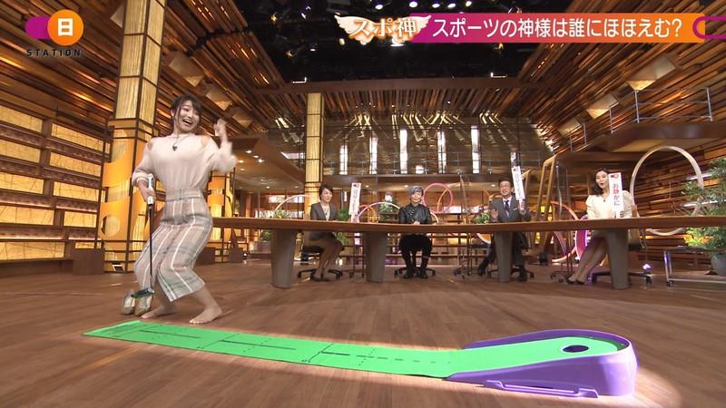 【女子アナキャプ画像】テレ朝入社2年目の笑顔が可愛い安藤萌々さん 44