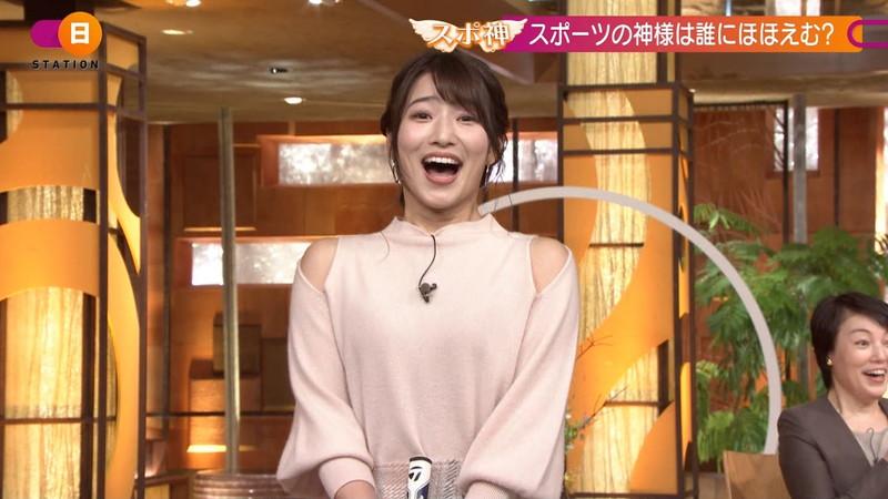 【女子アナキャプ画像】テレ朝入社2年目の笑顔が可愛い安藤萌々さん 45