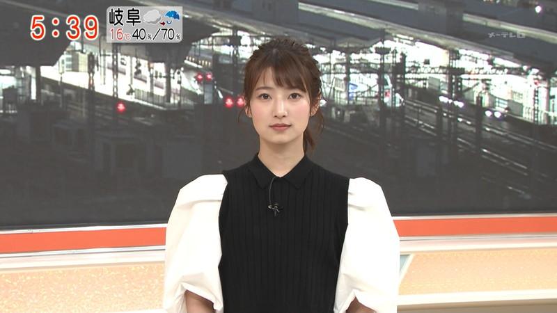 【女子アナキャプ画像】テレ朝入社2年目の笑顔が可愛い安藤萌々さん 48
