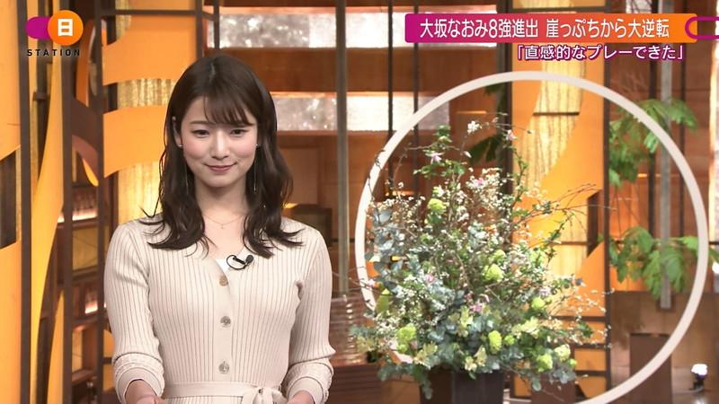 【女子アナキャプ画像】テレ朝入社2年目の笑顔が可愛い安藤萌々さん 53