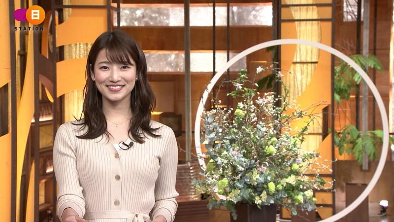 【女子アナキャプ画像】テレ朝入社2年目の笑顔が可愛い安藤萌々さん 54