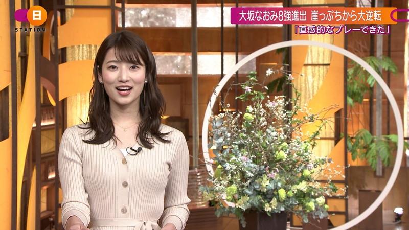 【女子アナキャプ画像】テレ朝入社2年目の笑顔が可愛い安藤萌々さん 55