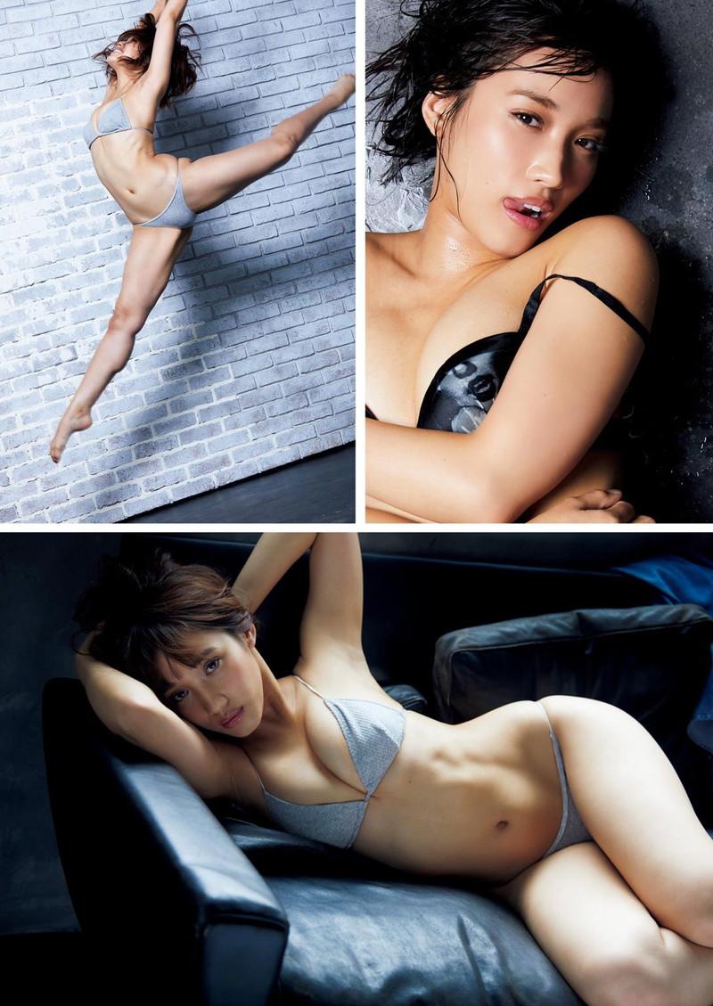 【岡田サリオグラビア画像】軟体ボディを活かした開脚とお尻がエロい! 43