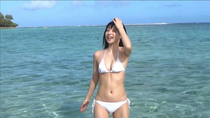 【染野有来エロ画像】コンテストグランプリ美少女のビキニ谷間! 30
