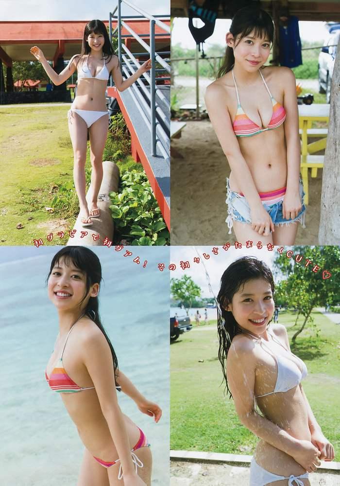 【染野有来エロ画像】コンテストグランプリ美少女のビキニ谷間! 64