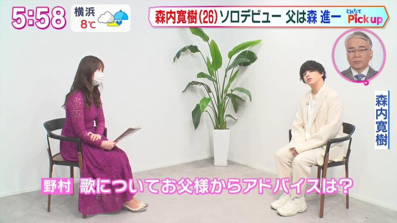 【女子アナキャプ画像】生まれも育ちもお嬢様な野村彩也子アナウンサー 47