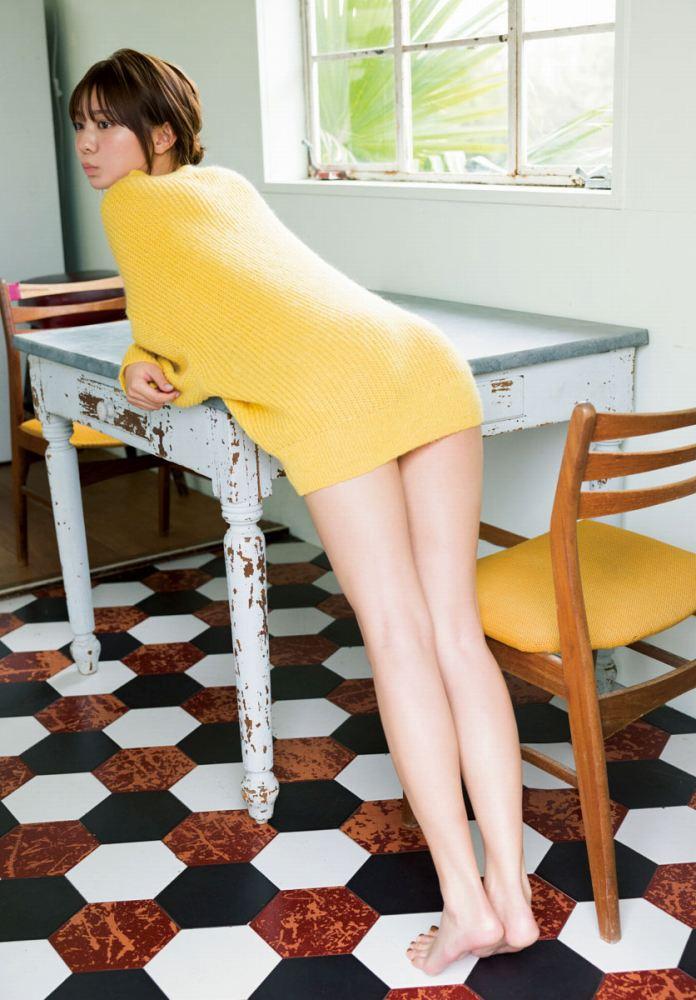 【川津明日香グラビア画像】スレンダーくびれボディに谷間がエロいビキニ美少女 27