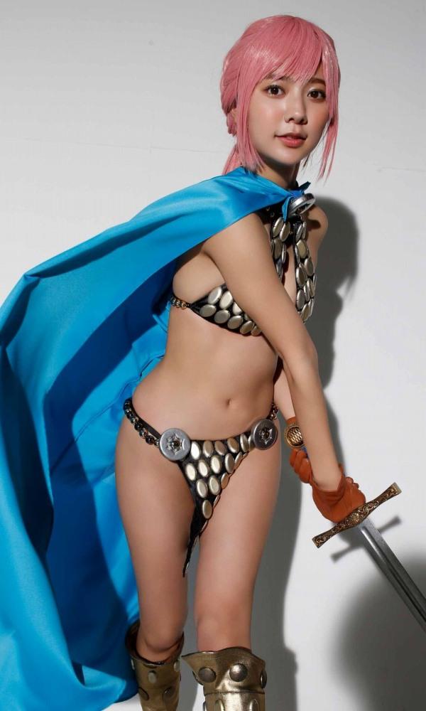 【川津明日香グラビア画像】スレンダーくびれボディに谷間がエロいビキニ美少女 74