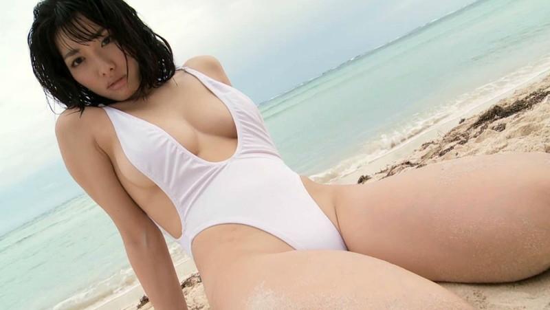 【今野杏南キャプ画像】Gカップ熟女グラドルが20歳代に撮ったイメージ 12