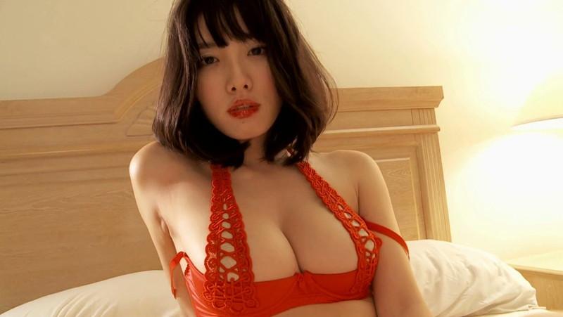 【今野杏南キャプ画像】Gカップ熟女グラドルが20歳代に撮ったイメージ 25