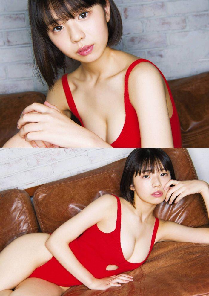 【菊池姫奈グラビア画像】素朴な感じの美少女感が可愛らしい現役女子校生 27
