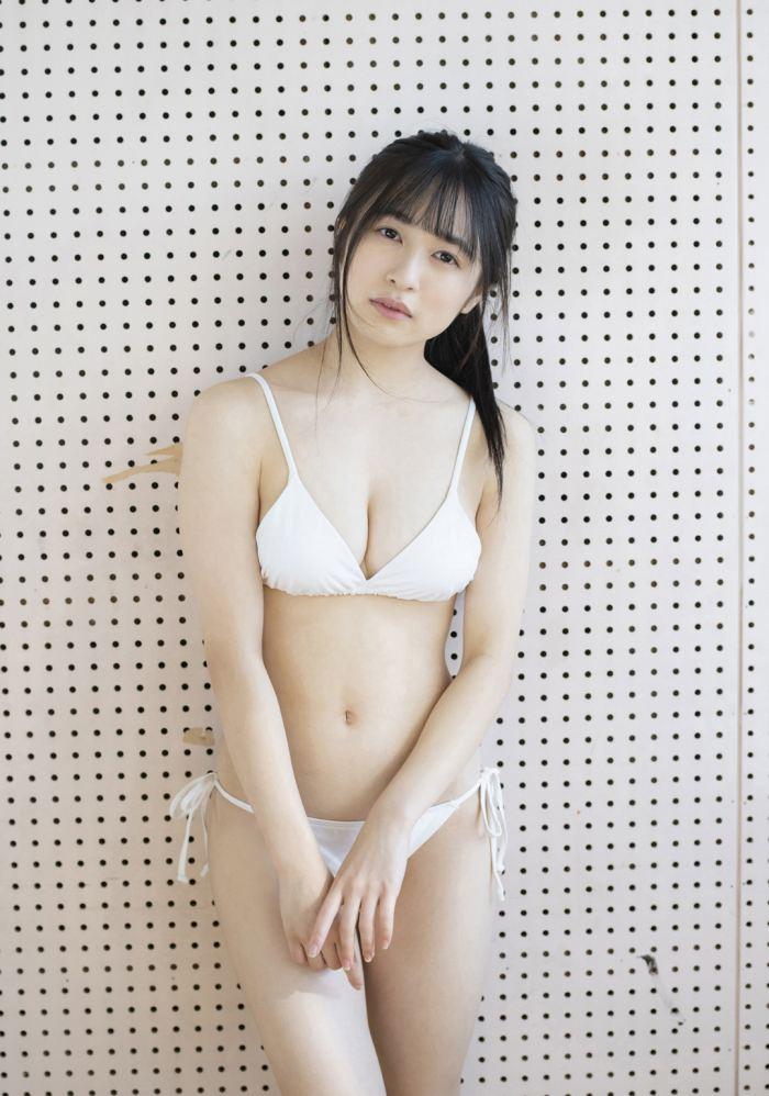 【早川渚紗グラビア画像】スリーサイズ以上におっぱいが大きく見える! 58