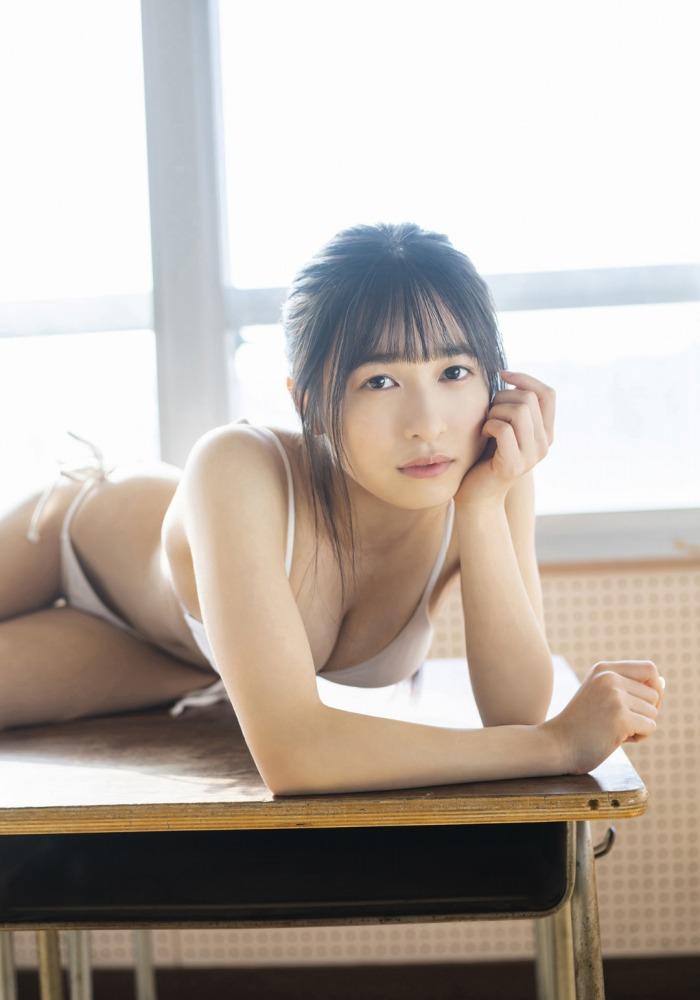 【早川渚紗グラビア画像】スリーサイズ以上におっぱいが大きく見える! 61